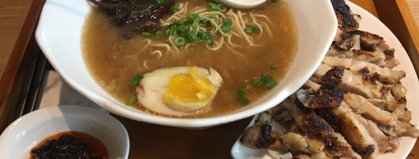 Restaurante Ramen. Comer en China Town