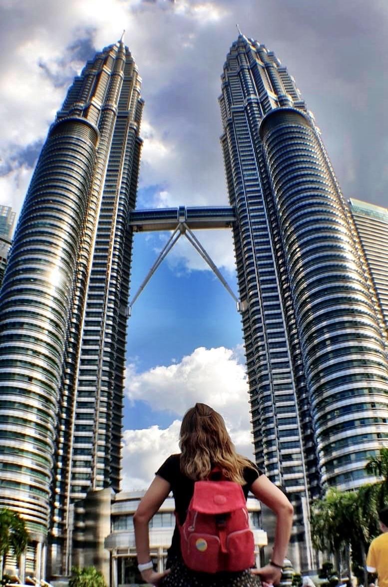 Las Torres Petronas de 452 m de altura