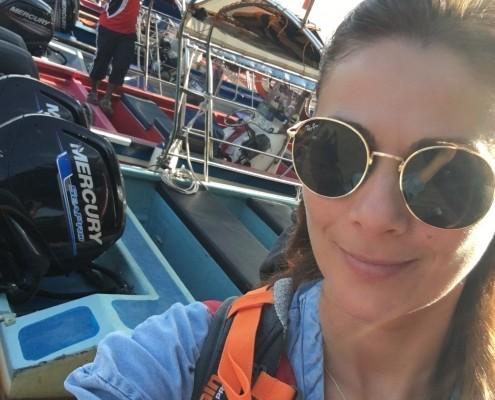 Barco para llegar a Isla Perhentian