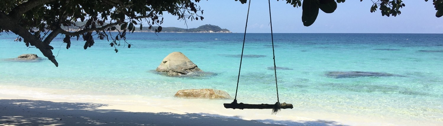 COLUMPIO ROMANTIC BEACH, ISLAS PERHENTIAN PLAYA VIRGEN