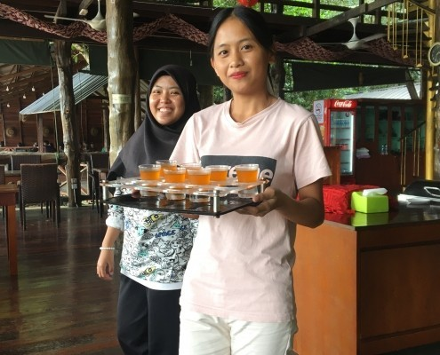 Bienvenidos a Natural Sukau Bilit Resort