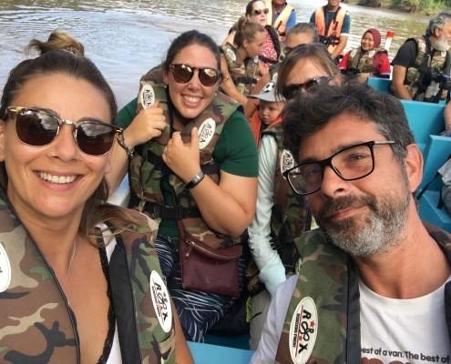 EXCURSION DE TARDE POR EL RÍO RÍO KINABATANGAN EN BORNEO
