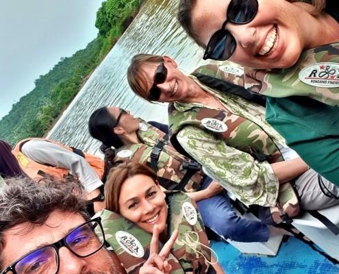 Safari por el día en el Río Kinabatangan